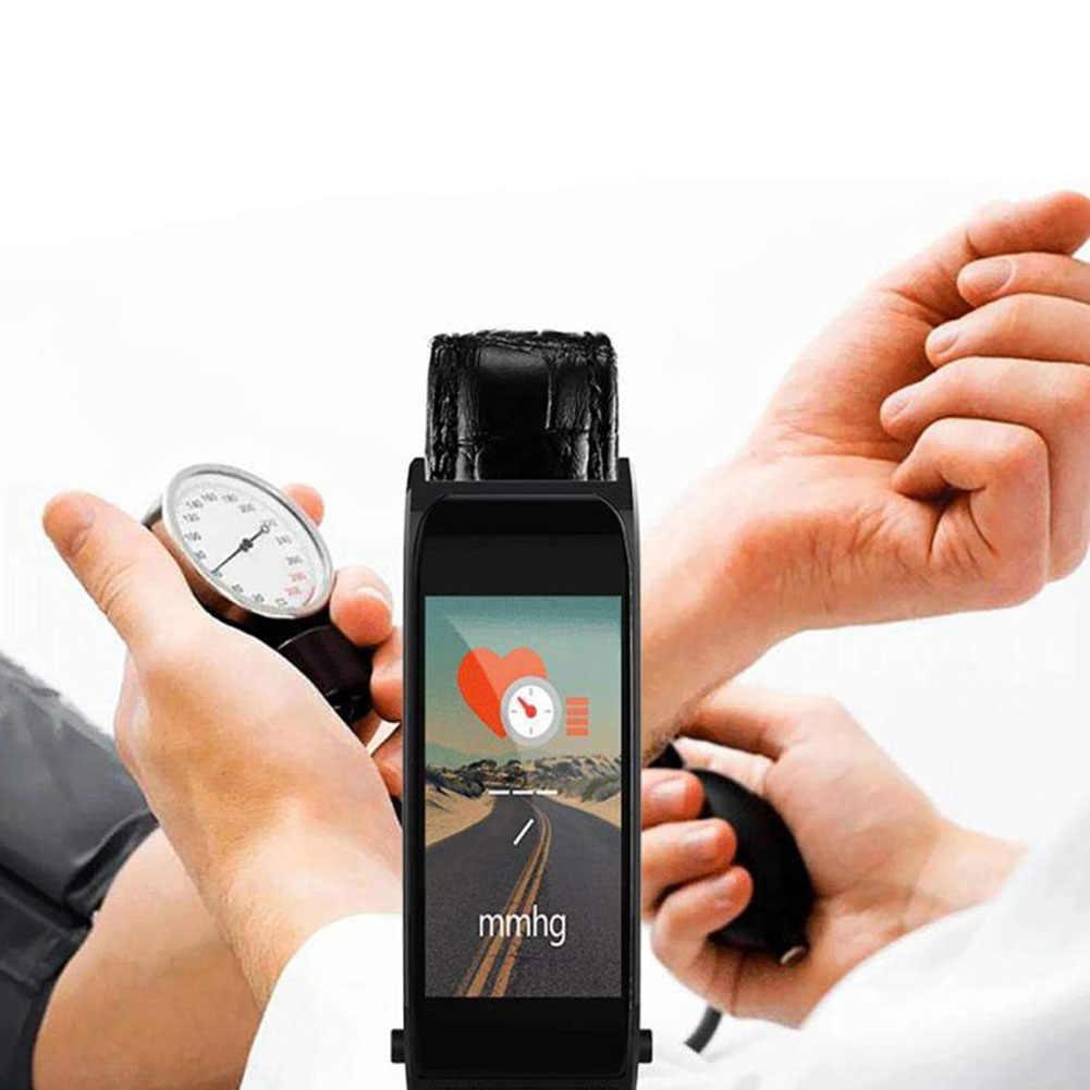 Y6 цветной экран Смарт фитнес часы спортивный браслет ремешок с поясом вызов