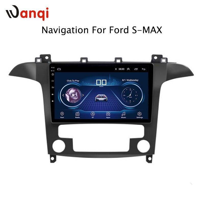 Pour Ford S-max 2007 2008 Offre Spéciale 9 pouce Android 8.1 Voiture Dvd Gps Lecteur intégré Radio Vidéo Navigation bt Wifi