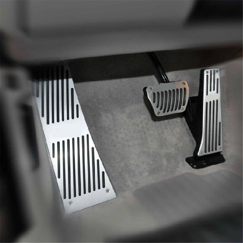 Pédales de repose-pieds en aluminium pour voiture ensemble de pédales de voiture pour BMW série 3 nouvelle série 1 X1 M3 E30 E36 E39 E46 E87 E90 E91 E92 E93