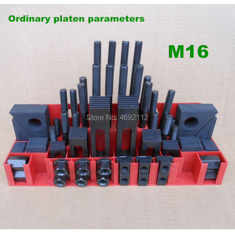 Clamping Set 58pcs Mill Clamp Kit Vice Metex Milling Machine Accessories Set M16