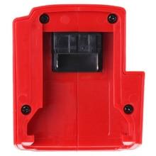 Горячий-красный USB зарядное устройство адаптер мобильных телефонов MP3-плееры цифровые камеры для Милуоки 49-24-2371 M18/M12/XC с подогревом 15-21 в разъем
