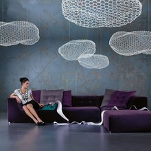Nordic Bedroom Pendant Light Novel Clouds Lamp Living Room Fixtures Restaurant Cafe Simple LED Children's Room Cloud Decor Lamp 2018 new nordic art dining room lindsey pendant light simple restaurant cafe tree branch with g4 led bulbs light fixtures