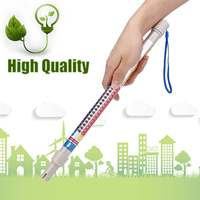 Soil Conductivity Tester Waterproof 4 in1 Hydroponics Wand Nutrient Meter for EC/PPM/CF Tester Meter PH Meter Free Shipping
