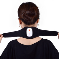2018 APP Control Neck Guard Chinese Magnetic Pulse Therapy Neck Massager Support Pain Relief Braces USB Charge T0306SPD