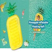 Надувной ананас гигантский бассейн игрушки для купания плавания кольцо
