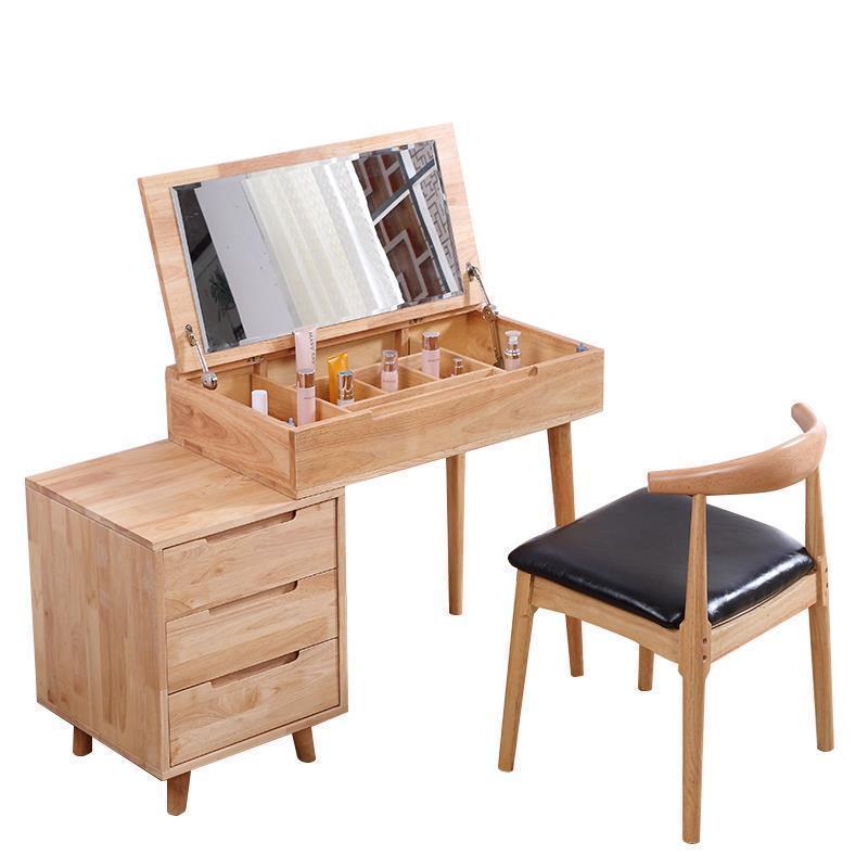 Chambre Aparador Mueble De Vanity Dormitorio Coiffeuse Makeup Box Retro Wood Bedroom Furniture Korean Quarto Table Dresser