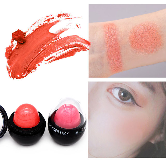 6 Colors Blush Cream Makeup