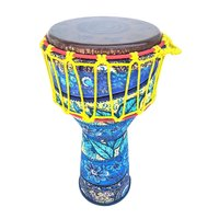 African Bongo Hand Drum Djembes Musical Percussion Instrument Early Learning Educational Toys for Children Toddler Kids