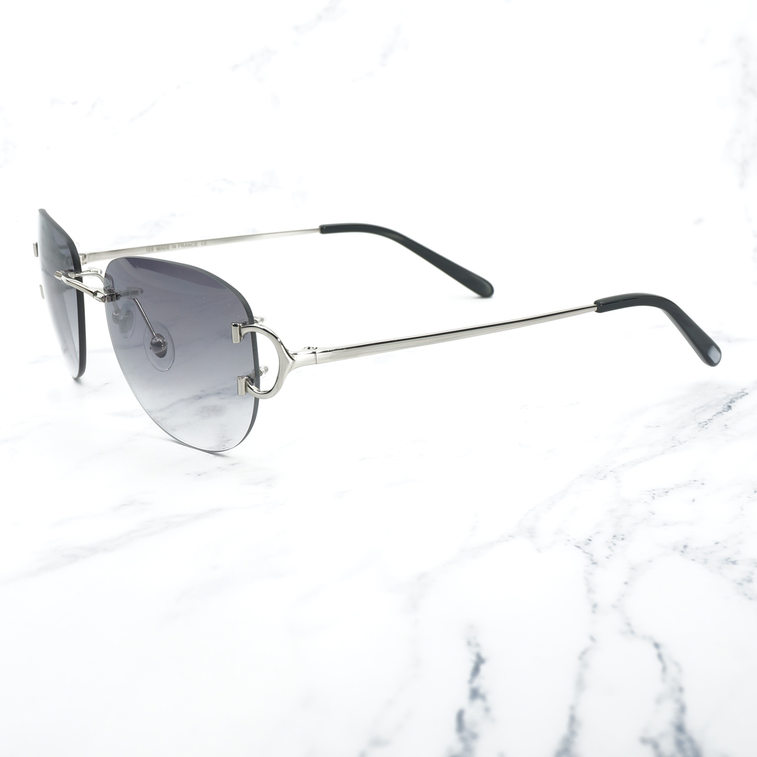 Image 5 - Vintage Pilot Sunglasses for Men Retro Carter Glasses Frame for Women A3 Wholesale Men Sunglass Promotion Female Glass Shades-in Women's Sunglasses from Apparel Accessories