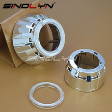 """Sinolyn High Temperature Resistant Projector Shrouds Masks Hoods For 2.5"""" H1 Lens WST Projector Lens With PC Cover"""