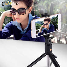 CASEIER Bluetooth Selfie Stick Universal For iPhone Android Phone Tripod Handheld Monopod Remote Extendable Selfie Stick Tripod стоимость
