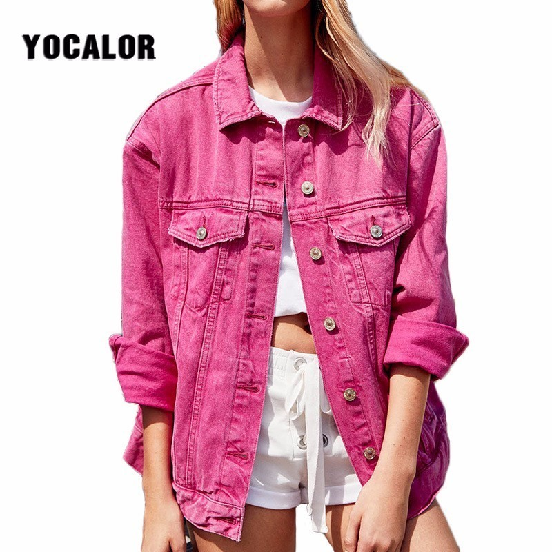 Plus Size Fashion Denim   Coat   Sobretudo Autumn Spring Black Varsity Jacket Female Jackets For Women Ropa Chaqueta Ceket Outerwear