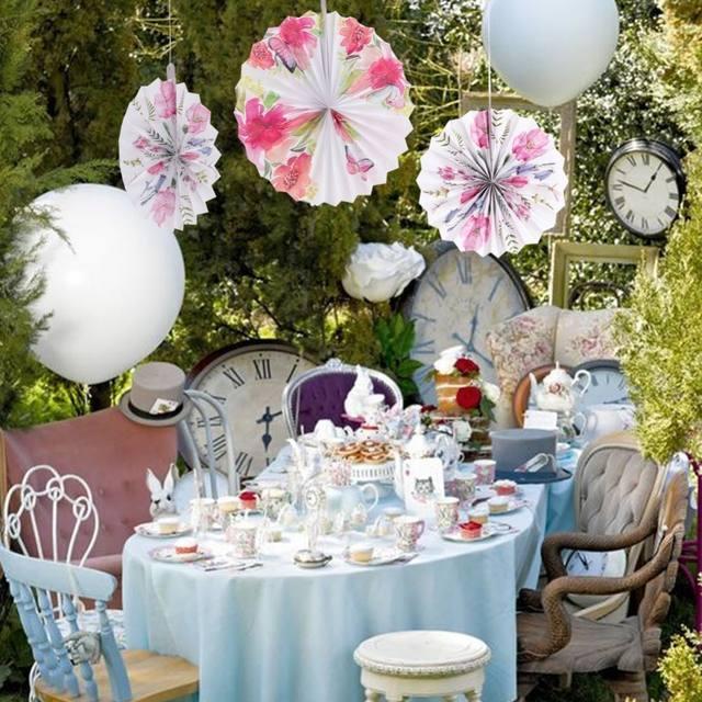 Spring Tea Party Decoration Set