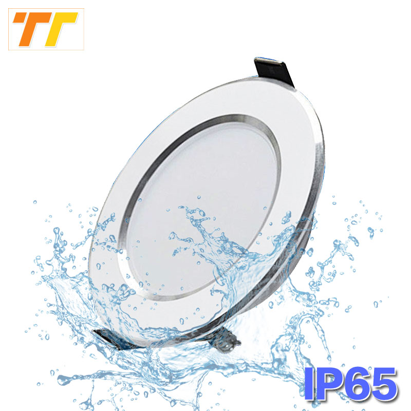Waterproof LED Downlight Dimmable 18W 15W 12W 9W 7W 5W Warm White Cold White Recessed LED Lamp Spot Light AC220V AC110 image