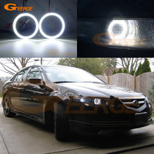 For Acura Tl 2004 2005 2006 Smd Led Angel Eyes Kit Excellent Ultra Bright Illumination Drl Halo Rings