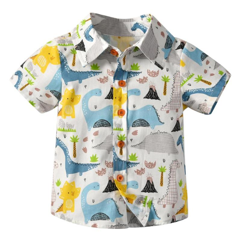 Short Sleeve Basic Boys Shirt Cartoon Print Turn Down Collar Summer Daily Buttons Tops Newborn Baby Toddler Shirts Boys WearShort Sleeve Basic Boys Shirt Cartoon Print Turn Down Collar Summer Daily Buttons Tops Newborn Baby Toddler Shirts Boys Wear
