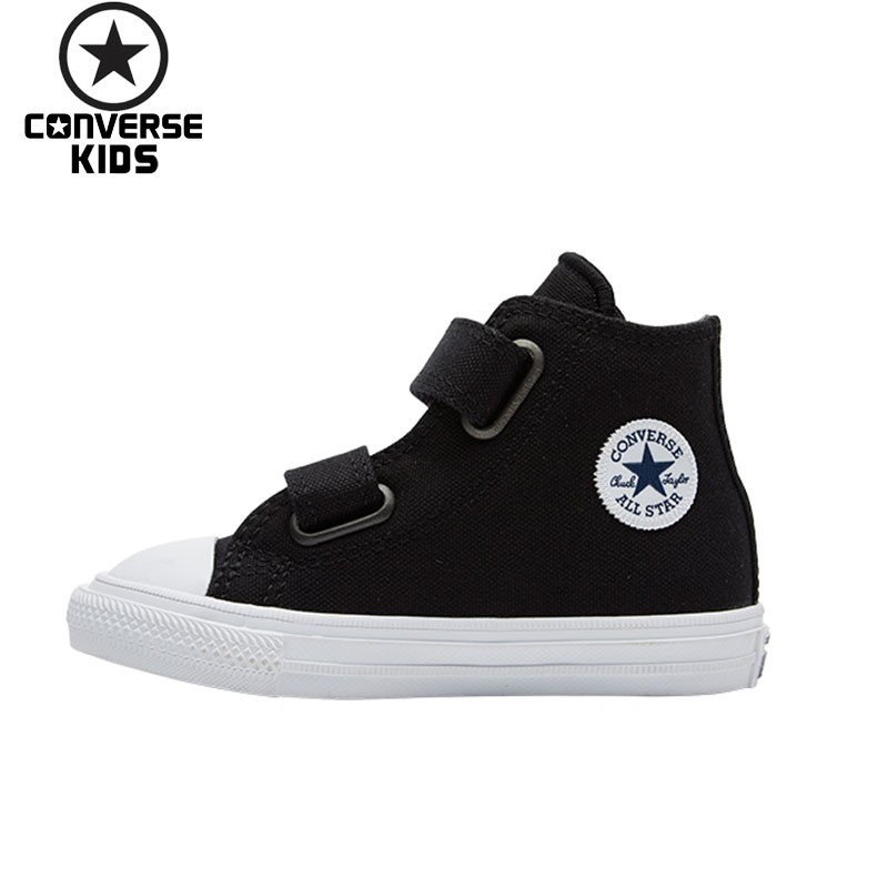 CONVERSE Children's Shoes II Magic Subsidies Canvas Men And Women Children Breathable Shoes #7541 94C/5C/6C/7C S