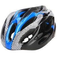 1 Uds. Casco de bicicleta de fibra de carbono bicicleta de montaña de carretera casco de bicicleta para adultos transpirable 3 colores casco de ciclismo para ciclismo seguro