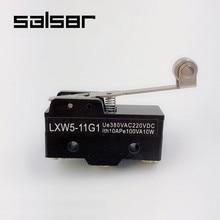 цена на Limit Switch Stroke LXW5-11G1 Fretting Bring Long Wheel Spring Type Screw Terminal Micro Switch Momentary 10A (10PCS)