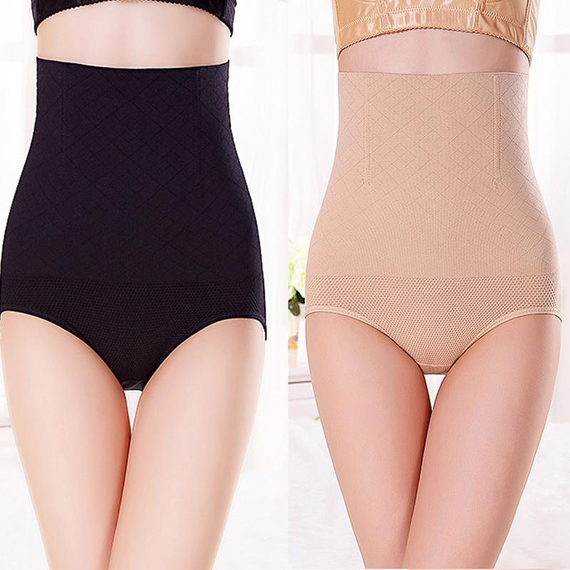 High Waisted Postpartum Women Slimmer Body Shaping Pants Seamless High Waist Postpartum Abdomen Panties For Mother