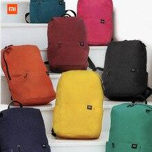 Xiaomiカラフルな小さなバックパック大容量防水バッグのカップルのバックパック学生younth男通勤バックパックオフィスWork2