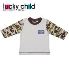 Кофта Lucky Child арт. 31-12 (Милитари) [сделано в России, доставка от 2-х дней]