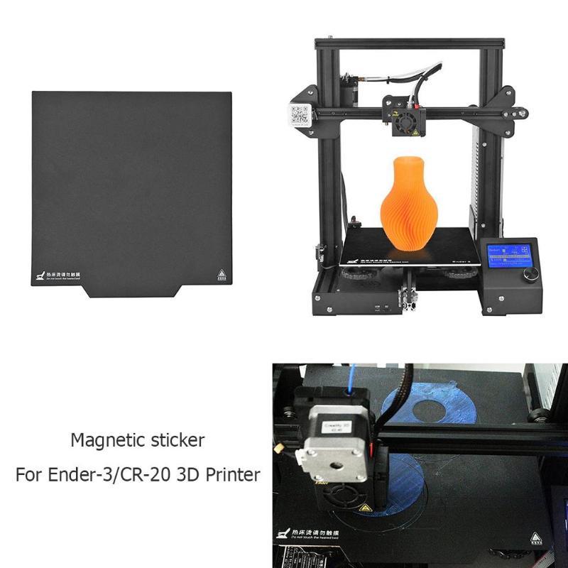 235*235mm 310mm*310mm Heatbed 3D Printer Magnetic Build Surface Heated Bed Platform Paper Sticker for Ender-3/CR-20 Hot Bed New