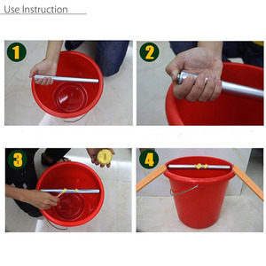 Image 5 - Log Roll Bucket Mice Trap Rolling Mouse Rat Stick Trap Rodent Spinning Rotatable Mice Trap Log Roll Into bucket