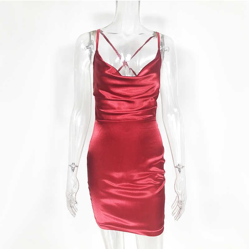 ... NewAsia Garden Red Satin Dress Women Bodycon Dress Leopard Print Summer  Dress Sexy Dresses Party Night ... 32172a359