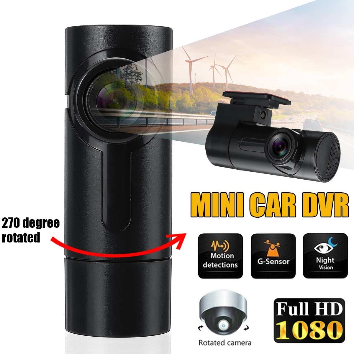 Car DVR Camcorder Dash-Camera Digital Night-Vision Mini G-Sensor Registrar 270-Degree