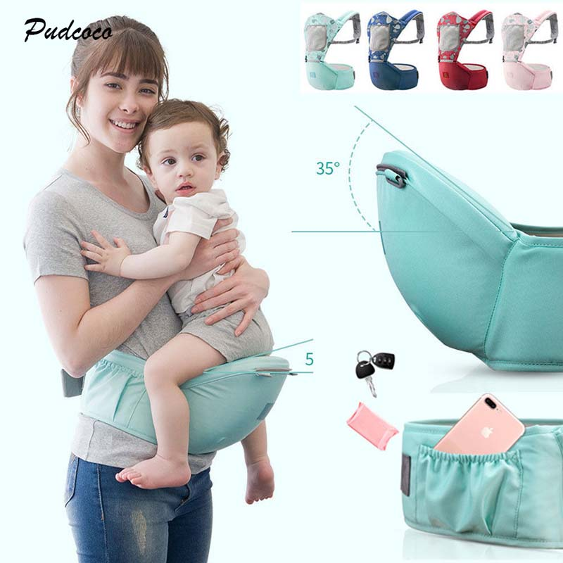 Ergonomic Baby Carriers 2018 Newborn Infant Toddler Carrier Fashion Baby Soft Backpack Front Back Hip Seat Chair