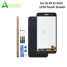 Alesser עבור LG K9 X2 X210 LCD תצוגת מסך מגע מסך Digitizer עצרת החלפה עבור LG K9 X2 X210 + כלים + דבק
