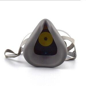 Image 2 - Респиратор для распыления красок, противотуманная маска с фильтрами твердых частиц и активированным углем