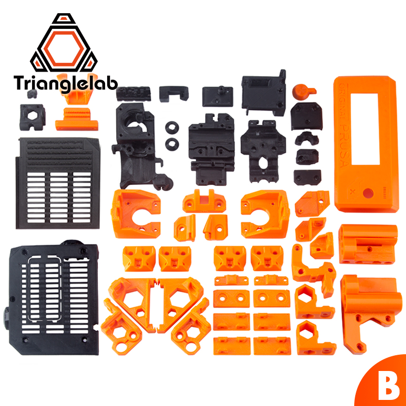 TriangleLAB PETG material full printed parts for DIY Prusa i3 MK3S bear upgrade 3D printer  NOT PLA  materialTriangleLAB PETG material full printed parts for DIY Prusa i3 MK3S bear upgrade 3D printer  NOT PLA  material