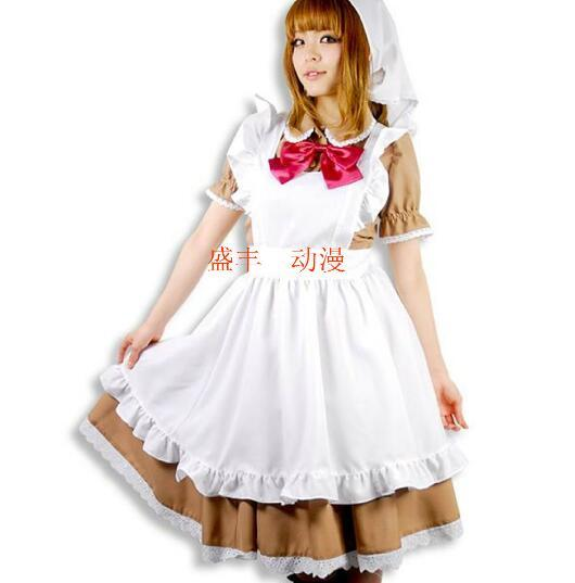 Axis Powers Hetalia Maid Chibi Romano Maid Cosplay Costume Women Closing For Halloween Costumes For Women