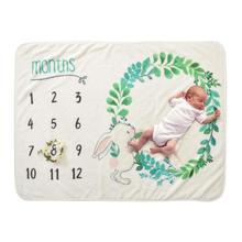 Bebek sevimli tavşan fotoğraf Prop arabası battaniye fotoğraf bebek kundak zemin örtüsü banyo havlusu