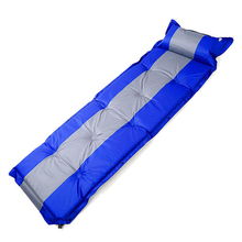 Car Travel Bed Inflatable Moisture-proof Pad 5CM thickened Single Person Can Be Spliced With Pillow Ultralight Portable
