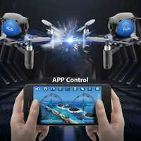 WIFI FPV 2MP Camera Altitude Hold DIY Drone Gravity Sensor RC Quadcopter Wth Stable G sensor Mode Assembly Kit With Battery