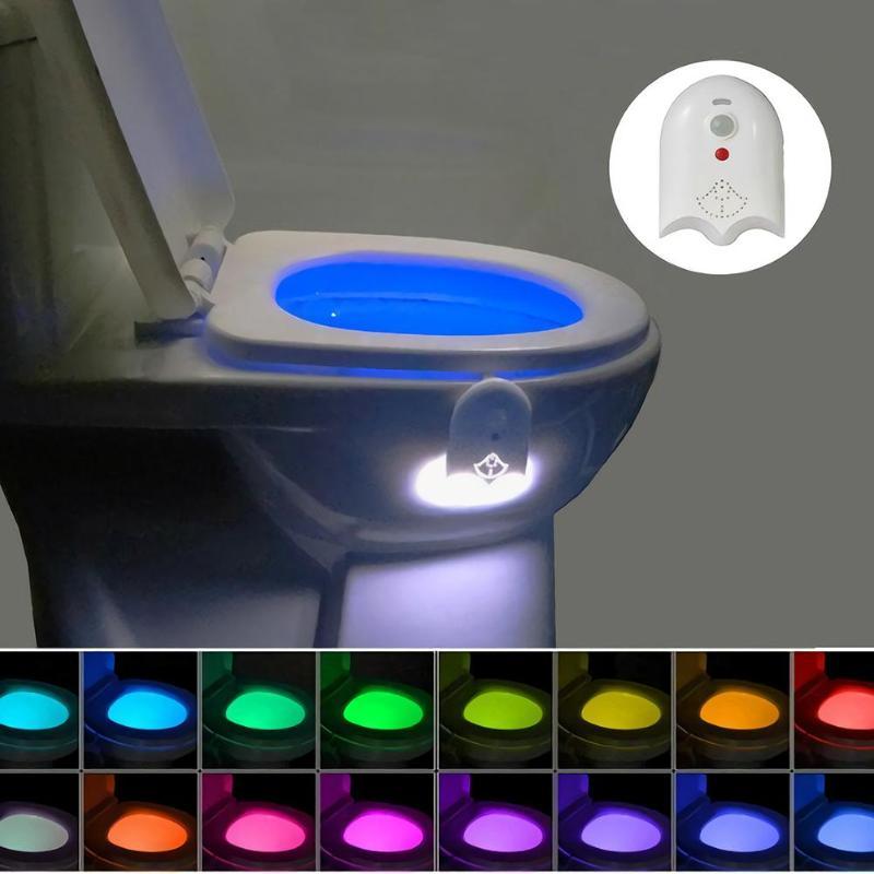 Intelligente PIR Sensore di Movimento Sedile del Water Luce di Notte 16 Colori Impermeabile Retroilluminazione Per Wc Ciotola HA CONDOTTO LA Lampada USB Wc Ciotola lampadeIntelligente PIR Sensore di Movimento Sedile del Water Luce di Notte 16 Colori Impermeabile Retroilluminazione Per Wc Ciotola HA CONDOTTO LA Lampada USB Wc Ciotola lampade