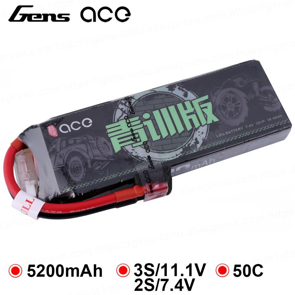 gens ace lipo bateria 5200 mah 11 1 v lipo bateria 50c xt60 deans plug plug