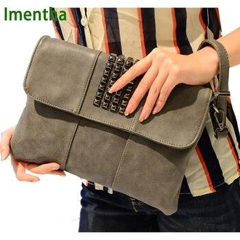 Designer Envelope Leather Purse