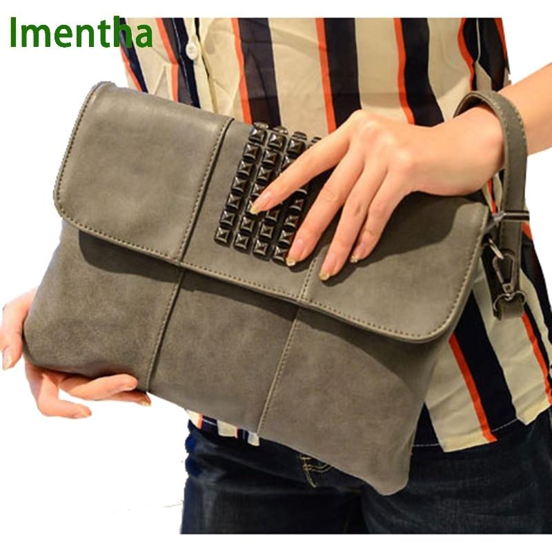 Precio de fábrica día embrague nuevo diseñador sobre monedero de cuero monedero Casual para mujer bolsos de embrague por la noche partido de la señora bolso