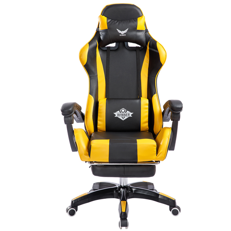 Reclining Office Chair With Footrest Lifted Rotated E-sports Gaming Chair Household Multi-function Computer Chair With Massage