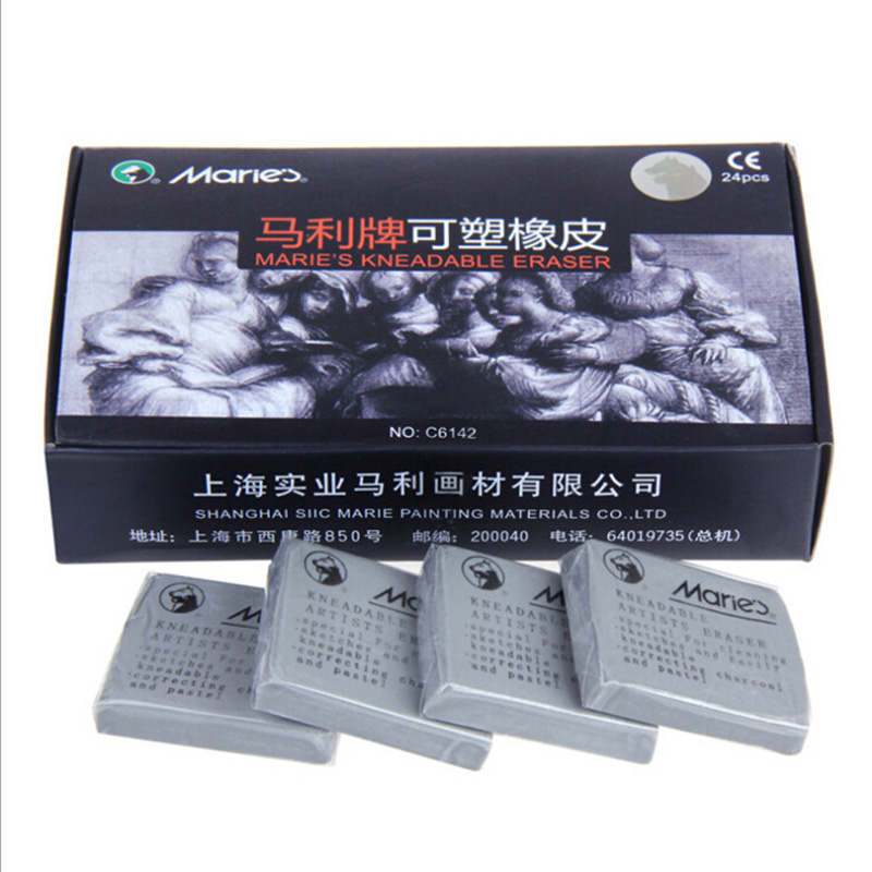 1PC Professional Sketch Special Eraser Soft Grey Rubber Erasers For Art School Supplies Correction Tools Stationery
