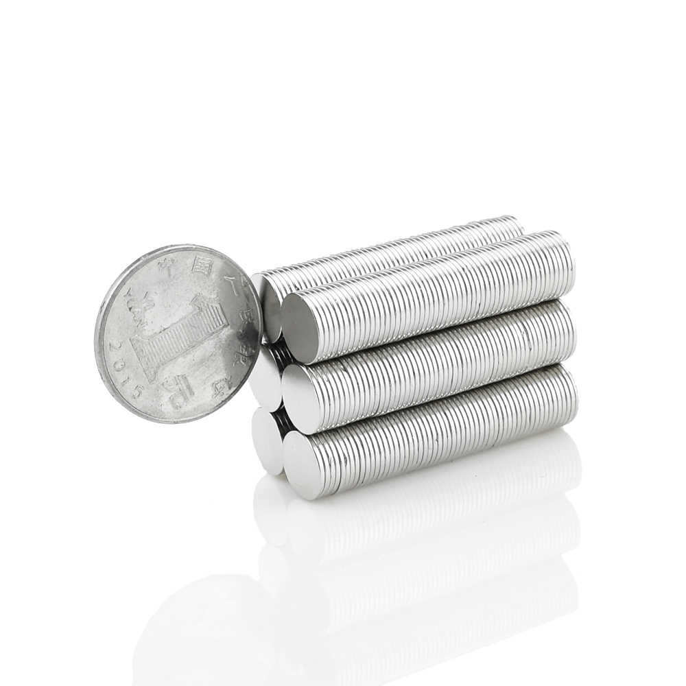 AETool Mini Neodymium Magnet N52 10x1 10x2 12x1 12x2 15x1 mm Permanent NdFeB Small Round Super Powerful Strong Magnetic Magnets