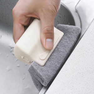 Image 2 - 車のクリーニングブラシツールウィンドウ溝車のアクセサリー自動車クリーニングダスト車洗浄窓溝クリーナーブラシツールホーム