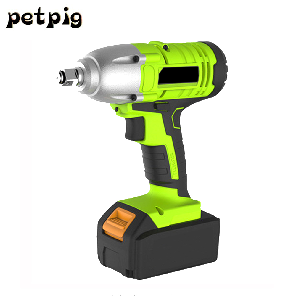 цена на Electric Wrench Car Repair Power Tool Cordless Drill Torque Wrench Battery Puncher Impact Wrench Electric Tools Screwdriver