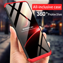 Full Protection Case for OPPO Realme 2 Pro Case for OPPO Real Me 1 A3S A5 Cover For OPPO F9 Pro Find X Shell Hard PC Case Coque 360 full protection case for oppo find x case luxury hard pc shockproof back cover case for oppo find x cases