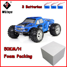 Wltoys A979 50KM/H RC Car 1/18 2.4GHz 4WD Monster Rc Racing Remote Control Cars Radio-controlled Machine ZLRC