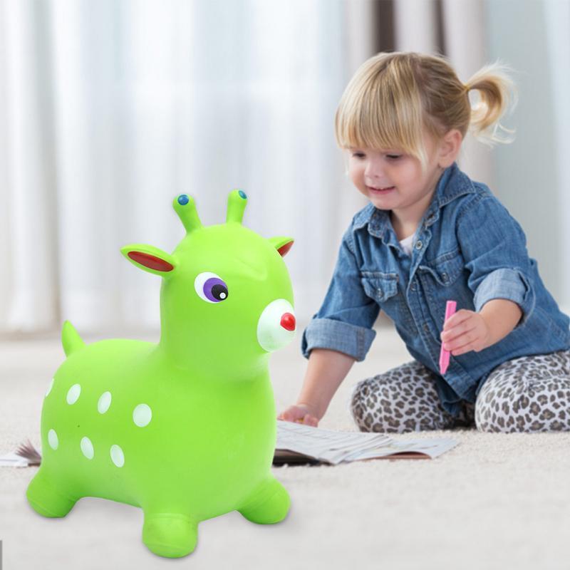 PVC gonflable anti-déflagrant gonflable extensible saut à bascule cheval mont enfants équilibre pratique voûte cheval équitation jouet